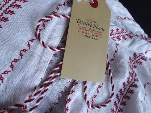 新品 定価4900円 レイカズン エスニック 刺繍 シャツ ブラウス < ブランドの
