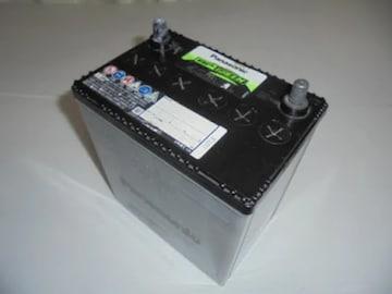 Panasonic BP GREEN 40B19L カーバッテリー充電切れ長期保管中古