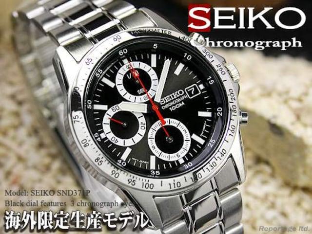 税込!海外限定生産モデル【SEIKO】セイコー1/20秒高速クロノRD  < ブランドの