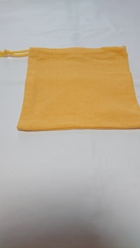 4  イエロー系巾着 2枚セット