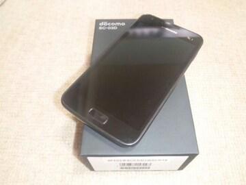 特価品!!美中古品 SC-03D Galaxy S2 LTE ブラック