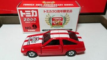 ★トミカ30周年限定品★トヨタ カローラレビン(AE86)★TOMY