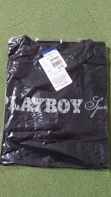 【新品・タグ付】PLAY BOY 長袖Tシャツ・LLサイズ  < ブランドの