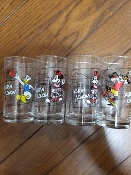 ディズニー食器 グラス&皿セット