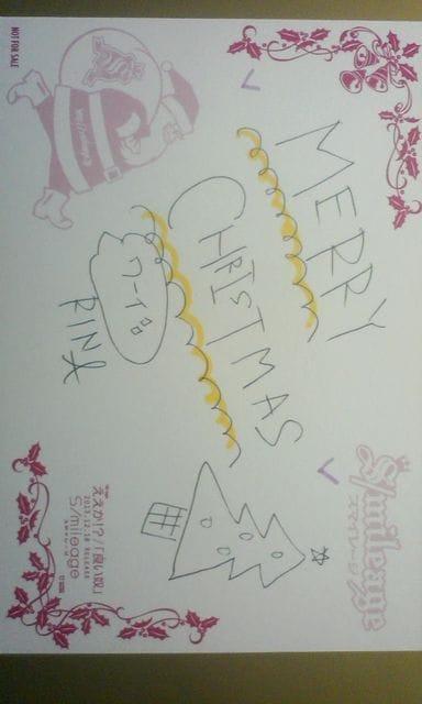 タワレコ新宿お渡し会2013.12/23 直筆クリスマスカード/勝田里奈 < タレントグッズの