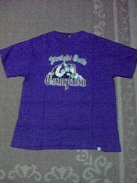 B-BOY.スト系 美品 k3c works Tシャツ XL 紫