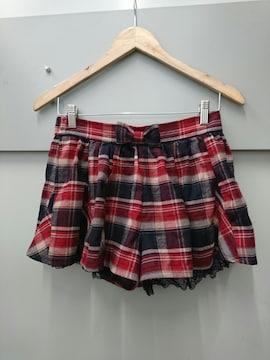 LIZ LISA☆チェック柄キュロットパンツ