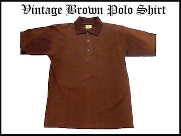 90代オリジナルロゴポロシャツベーシックスタイルS