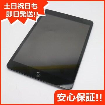 ●美品●au iPad mini Wi-Fi+cellular16GB ブラック●