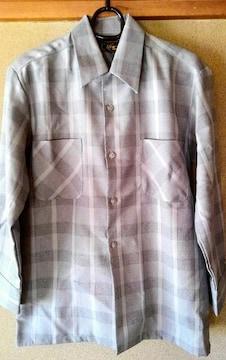 SASA ササ メンズ シャツ 灰色 グレー 日本製 S サイズ 洋服