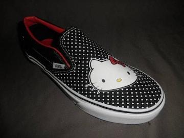 激レア US限定《Vans x Hello Kittyコラボ》ClassicSlipOn24.0�a