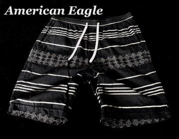 【アメリカンイーグル】Vintage ショートパンツ US-M/Navy