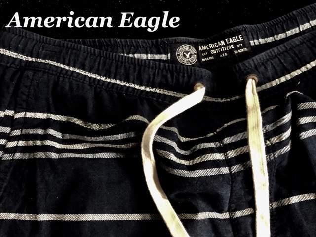 【アメリカンイーグル】Vintage ショートパンツ US-M/Navy < ブランドの
