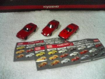 京商 1/100 フェアレディZ Z-L 240ZG 280Z-T  赤