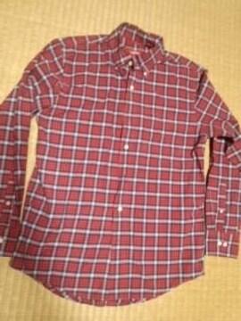 IZOD チェックシャツ S ラコステ系