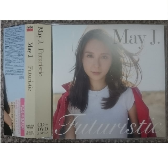 KF  May J. Futuristic  CD+DVD  < タレントグッズの