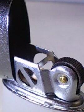 アンティークライター ZIPPOタイプ オイルライター カラーグレー