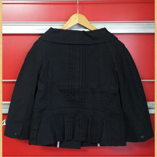 Jocomomola de Sybilla ホコモモラ シビラ ショート丈ジャケット 40 美品 < ブランドの