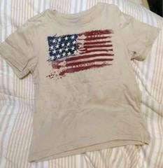 ギャップ〓95〓星条旗&ギターデザインTシャツ