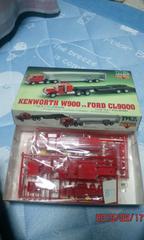 1/100ケンワースW900、1/100フォードCL9000