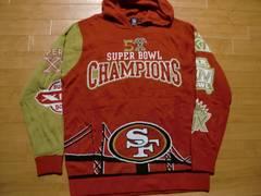 NFL SF 49ERS オフィシャル パーカー USA−XL