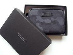☆バーバリー ブラックレーベル カモフラージュ柄 キーケース付き 財布