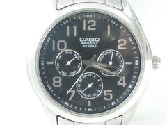 8912/CASIOカシオ★3ツ目ダイヤルデイデイト機能搭載メンズ腕時計格安