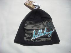 wb273 女 BILLABONG ビラボン ニット帽 ダークブラウン