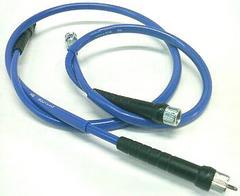 新発売CBX400FCBX400F�UCBX550Fタコメータースピードカラーワイヤーセットブルー