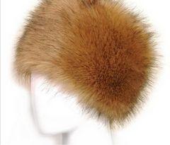 ロシア直輸入コサク帽 ふわもこ ファー防寒帽 女性用ウシャンカ