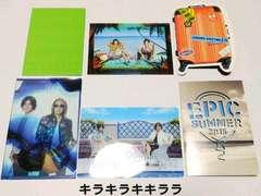 ◆B'zファンクラブ<B'z Party>特典★Summer Greetingカード�@/6枚セット