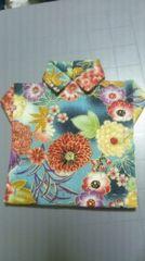 ハンドメイド 布製コースター�@ 12×11.5cm
