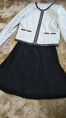 新品フォーマル入園卒園入学卒業結婚式スーツ3点セット15AR