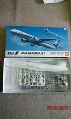 限定品レアBOEING 777-300 ANA×ガンダム ジェット&RX-78ガンダム