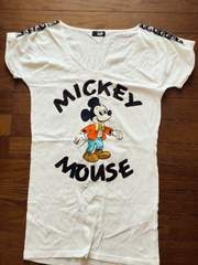 グラッドニュースミッキーTシャツ