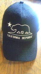 ロンハーマン購入 new era メッシュキャップ CALIFORNIA REPUBLIC ブラック deus