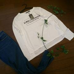 〇INGNI〇ロゴプリントの長袖Tシャツ*・゜新品