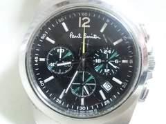 3292/ポールスミス★クローズドアイズクロノグラフメンズ腕時計定価5万円位