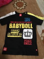 美品 BABYDOLL 半袖Tシャツ 140男女OK