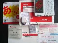 ◆PRIME series F-04B/F04B☆*。.:*新品未使用品:・':★ホワイト