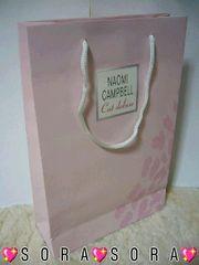 【NAOMI CAMPBELL/ナオミキャンベル】ショップ紙袋