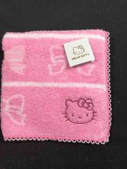 キティちゃんのハンドタオル