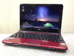 赤くて大人気!NEC LaVie Light BL350/E Win10