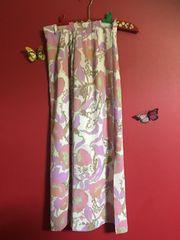 キャンツー ピンク 花柄 フラワー マキシスカート