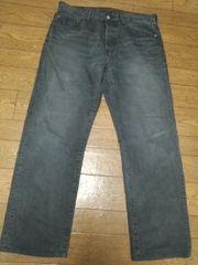リーバイス 501 ブラックジーンズ 34