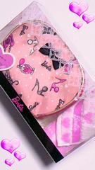 ★新品★バービーBarbie サーモンピンク&ピンク    ポーチセット