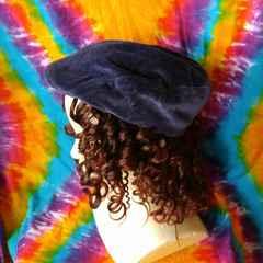 トレンド♪カジュアルstyle♪ベロアハンチング帽子◆男女兼用◆