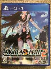 AKIBA'STRIP2 極美品 PS4 アキバズトリップ2
