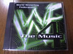 プロレスCD WWFザ・ミュージック Vol.4