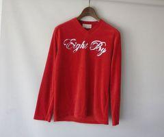 YGG■eightby エイトバイ スパンコール付 ロンTシャツ 赤 1 長袖
